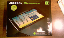 Archos 101 Internet Tablet in the box