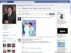 facebook maradona