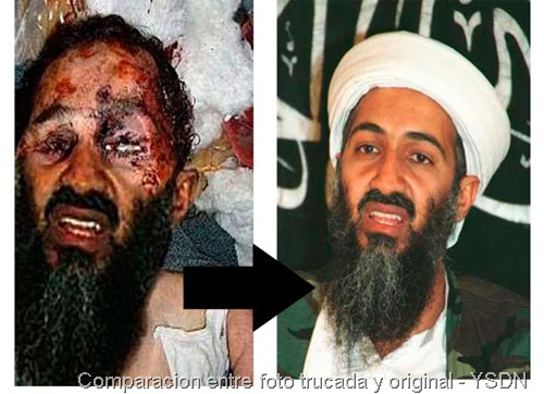 comparacion fotos bin laden