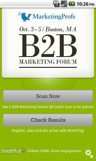 MarketingProfs B2B- BoothTag