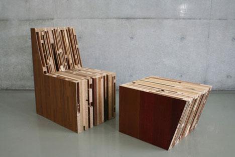 Foto Furniture Unik dari barang bekas 5