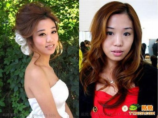 Foto : Kenapa Cewek Butuh waktu lama untuk Dandan, Make up 6