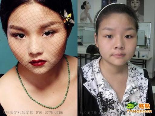 Foto : Kenapa Cewek Butuh waktu lama untuk Dandan, Make up 10