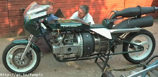 Foto Unik : Modifikasi motor ekstrim