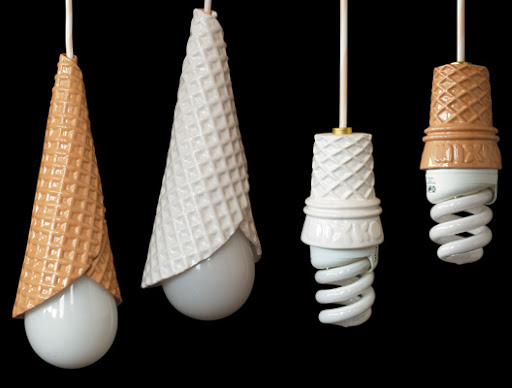 Foto Unik : Lampu Ice Cream