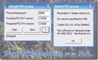 proxy ps3