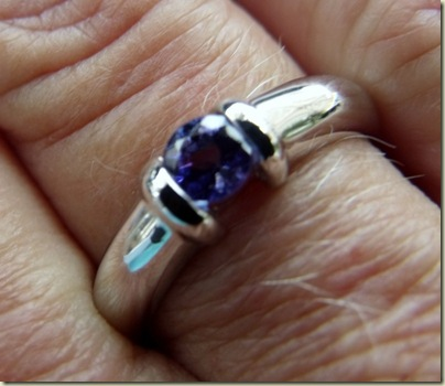 04 Tanzanite &amp; white gold ring from DeBeers Hermanus Western Cape ZA (800x693)