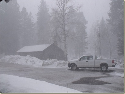 01 Snowing North Rim GRCA AZ