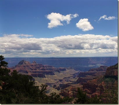 a165 Bright Angel Canyon NR GRCA NP AZ pano