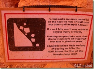 05 Warning sign at start of Wall Street Navajo Loop trail Bryce Canyon NP UT (1024x753)