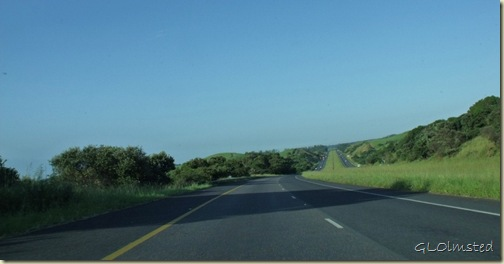 N2 west KwaZulu-Natal South Africa
