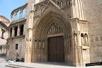 Foto de la portada gótica de la fachada occidental