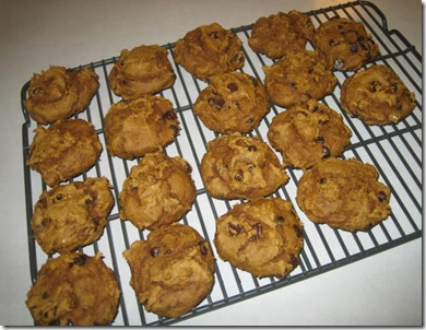 Pumpkin Cookies 016