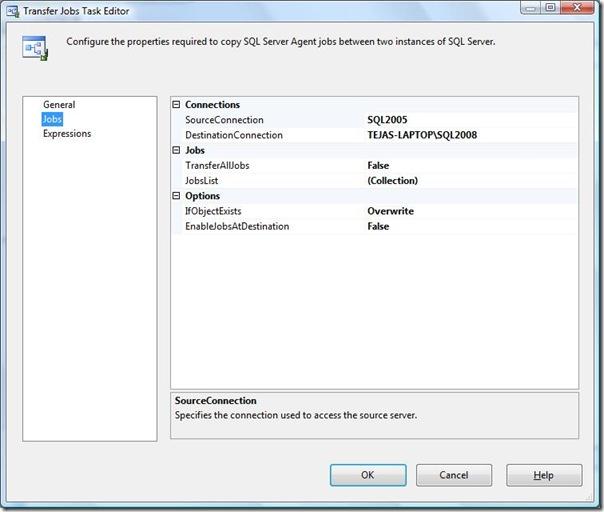 Sql Server: Ssis - Transfer Jobs Task ~ Sql Yoga