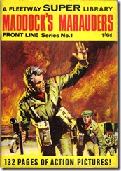 Fleetway Super Library - Frontline Series No.1 - Maddock's Marauders