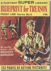Fleetway Super Library - Frontline Series No.5 - Maddock's Marauders - Blueprint for Treason