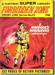 Fleetway Super Library - Frontline Series No.13 - Maddock's Marauders - Forbidden Zone