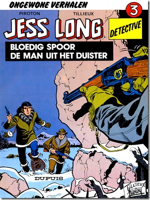 Jess Long Issue No 3 Cover