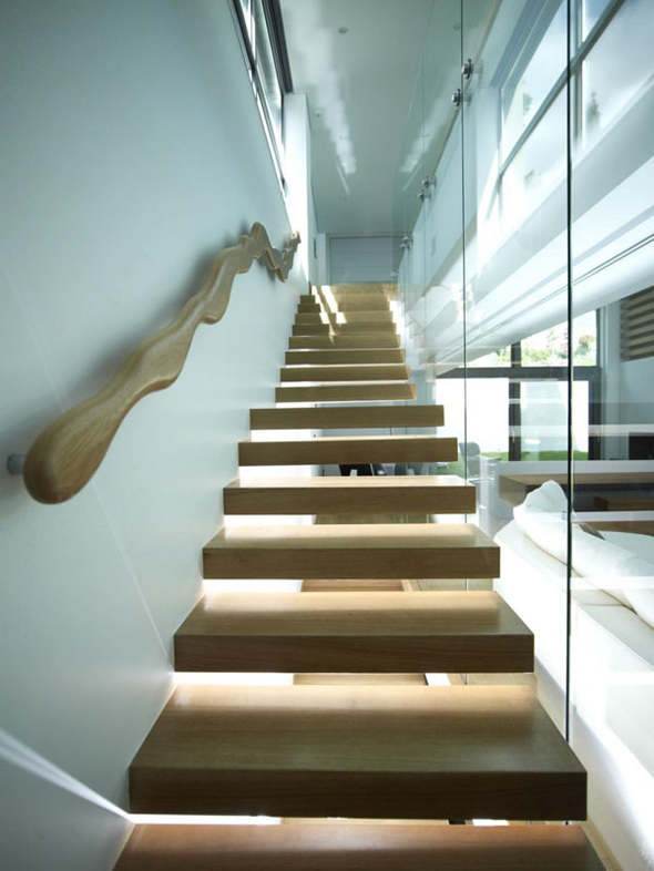 cool minimalist stair design ideas pictures