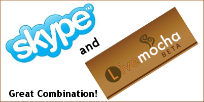 Skype and Livemocha