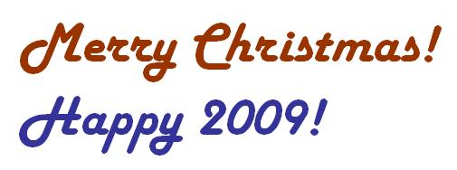 Happy 2009