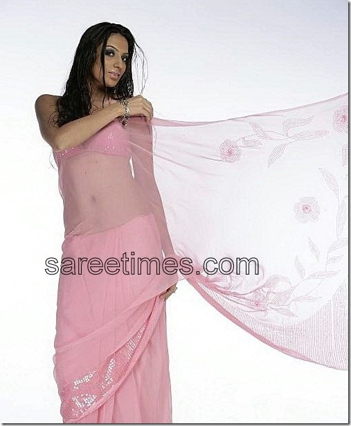 sonakshi-Pink-Bollywood-Sari