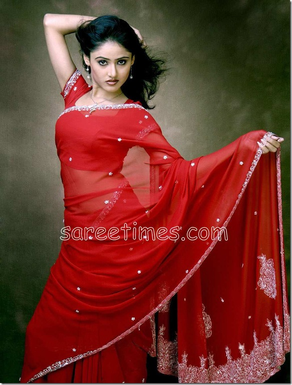 sony-charishta-in--red-saree