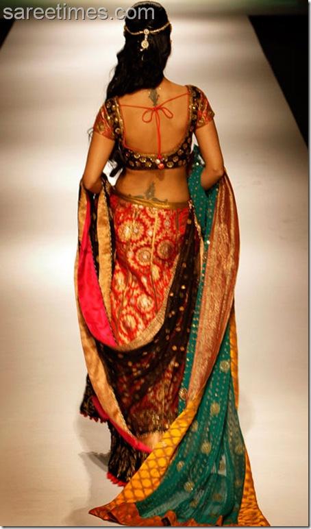 koena Mitra-Sari-Blouse-Design