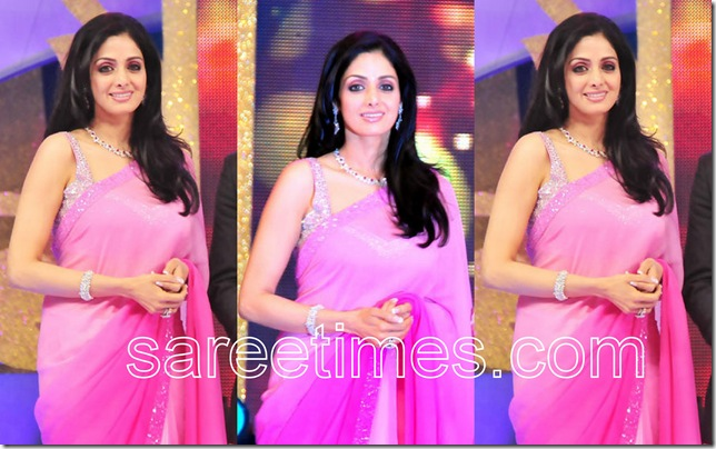 Sri-Devi-Pink-Sari-South-Scope-Awards