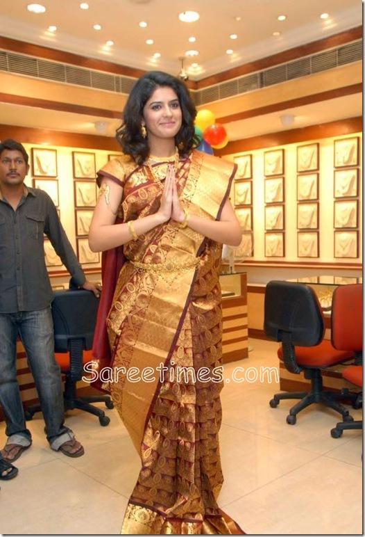 Deeksha -Gold-Designer Saree