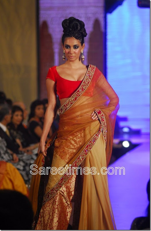 Manish Malhotra_Gold_Saree