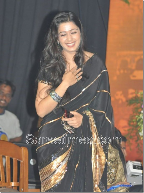 Charmi_Black_Designer_Saree