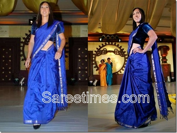 Jelena_Jankovic_Indian_Saree