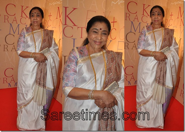 Asha_Bhosle_Traditional_Saree