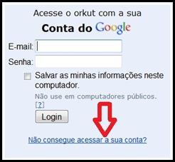 Senha Orkut
