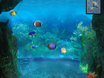 At the Deepth 3D aquarium wallpaper