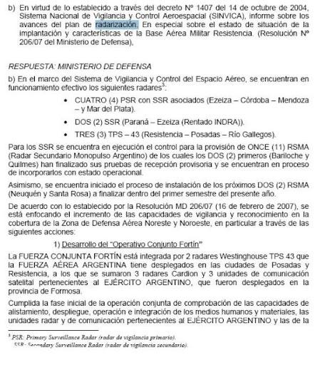 Sierra Grande solicita informes a Nación por pista de aterrizaje. Rad2