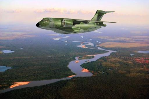 EMBRAER KC-390  KC-390-imagem-Embraer