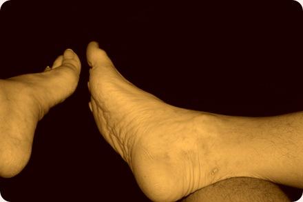 Our feet