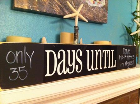 chalkboard countdown calendar