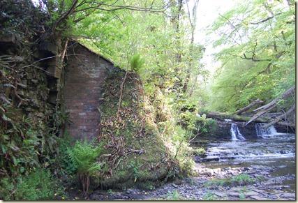 Lynn Glen Mill brick still standing
