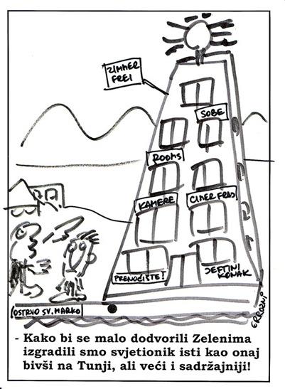 Karikatura SvjetionikED