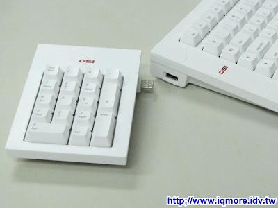 DSI(帝興國際) DSK-90 可分開式機械式鍵盤評測