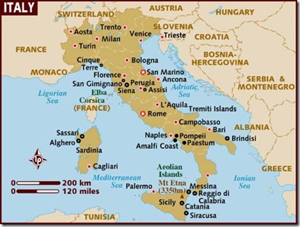 Italy - Map