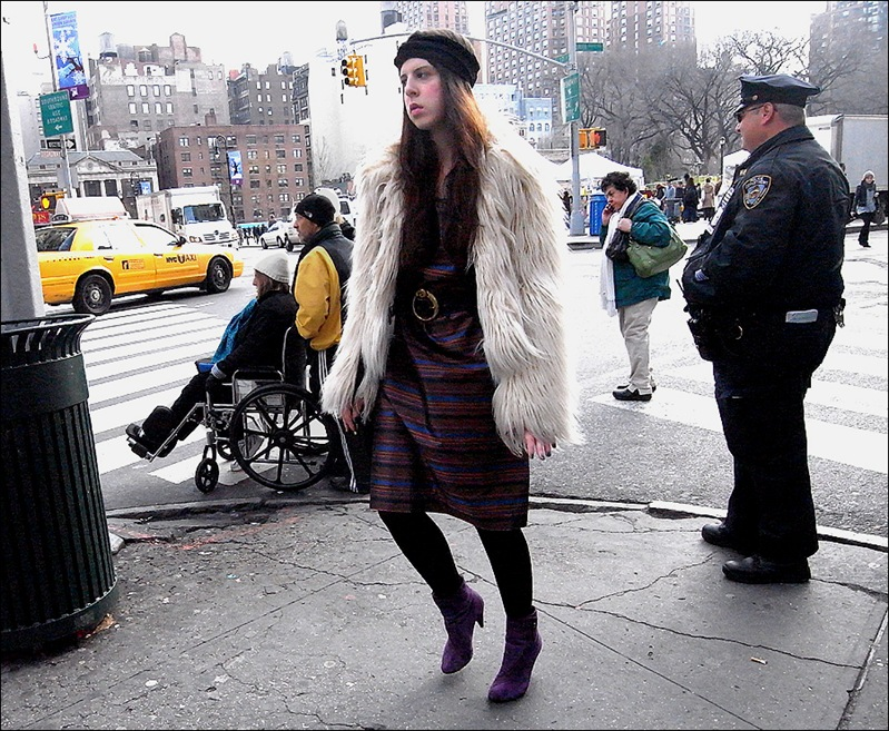 w fur and purple shoes 3