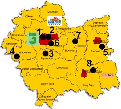 Zwierzyńce województwa małopolskiego