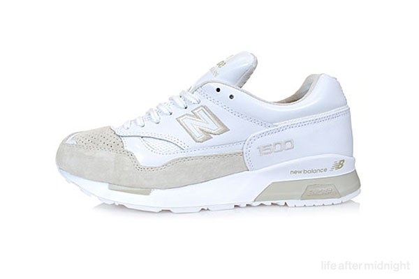 new balance 1500 all white