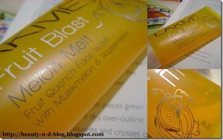 Lakme Fruit Blast Face Wash-Melon Melt Review
