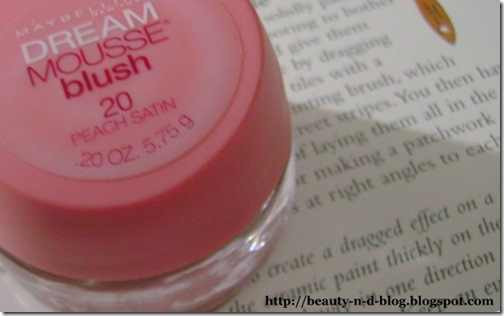 Maybelline Dream Mousse Blush-Peach Satin
