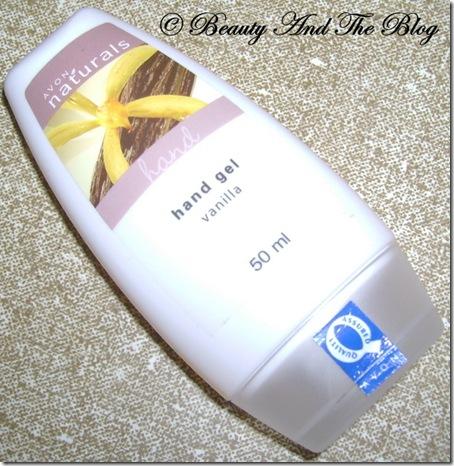 Avon Naturals Hand Gel Vanilla